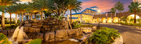 one of the conference hotels at Universal Orlando, Loews Sapphire Falls Resort, for COMMON 2017 Annual Meeting and Exhibition...
